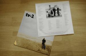 TV-2 cover pladeomslag